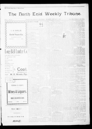 Primary view of object titled 'The North Enid Weekly Tribune. (North Enid, Okla.), Vol. 1, No. 12, Ed. 1 Thursday, January 4, 1894'.