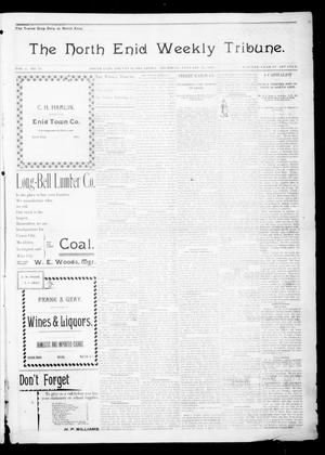Primary view of object titled 'The North Enid Weekly Tribune. (North Enid, Okla.), Vol. 1, No. 13, Ed. 1 Thursday, January 11, 1894'.