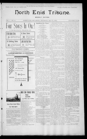 Primary view of object titled 'North Enid Tribune. Weekly Edition. (North Enid, Okla.), Vol. 1, No. 32, Ed. 1 Thursday, May 17, 1894'.