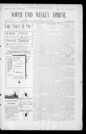 Primary view of object titled 'North Enid Weekly Tribune. (North Enid, Okla.), Vol. 1, No. 36, Ed. 1 Thursday, June 21, 1894'.