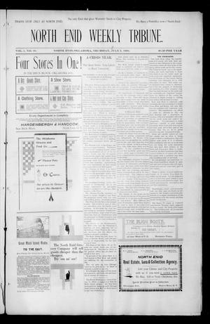 Primary view of object titled 'North Enid Weekly Tribune. (North Enid, Okla.), Vol. 1, No. 38, Ed. 1 Thursday, July 5, 1894'.