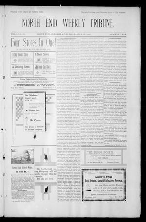 Primary view of object titled 'North Enid Weekly Tribune. (North Enid, Okla.), Vol. 1, No. 39, Ed. 1 Thursday, July 12, 1894'.