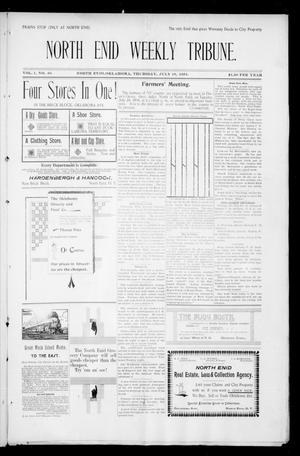 Primary view of object titled 'North Enid Weekly Tribune. (North Enid, Okla.), Vol. 1, No. 40, Ed. 1 Thursday, July 19, 1894'.