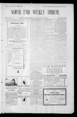 Primary view of object titled 'North Enid Weekly Tribune. (North Enid, Okla.), Vol. 1, No. 41, Ed. 1 Thursday, July 26, 1894'.