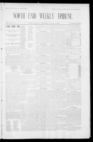 Primary view of object titled 'North Enid Weekly Tribune. (North Enid, Okla. Terr.), Vol. 1, No. 43, Ed. 1 Thursday, August 9, 1894'.
