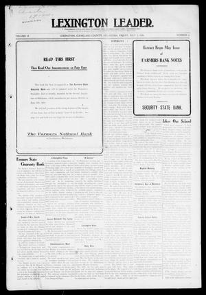 Primary view of object titled 'Lexington Leader. (Lexington, Okla.), Vol. 18, No. 41, Ed. 1 Friday, July 2, 1909'.