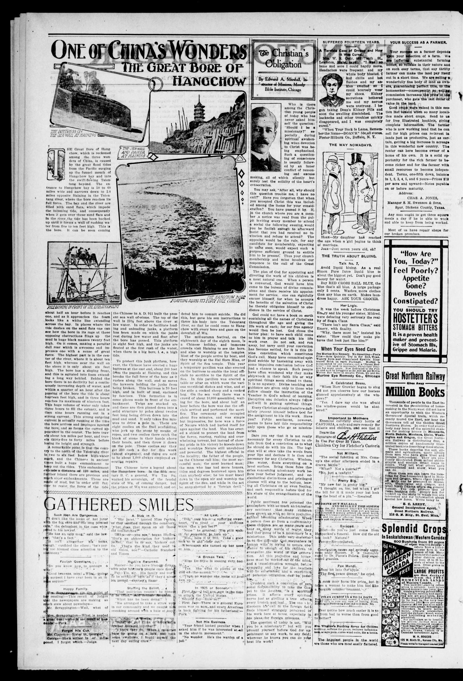 Lexington Leader (Lexington, Okla.), Vol. 21, No. 19, Ed. 1 Friday, January 26, 1912                                                                                                      [Sequence #]: 2 of 8