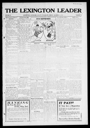 Primary view of object titled 'The Lexington Leader (Lexington, Okla.), Vol. 22, No. 12, Ed. 1 Friday, December 6, 1912'.