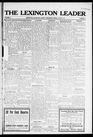 Primary view of object titled 'The Lexington Leader (Lexington, Okla.), Vol. 22, No. 37, Ed. 1 Friday, May 30, 1913'.