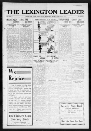 Primary view of object titled 'The Lexington Leader (Lexington, Okla.), Vol. 23, No. 21, Ed. 1 Friday, February 6, 1914'.