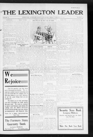 Primary view of object titled 'The Lexington Leader (Lexington, Okla.), Vol. 23, No. 24, Ed. 1 Friday, February 27, 1914'.