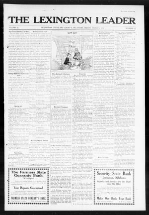 Primary view of object titled 'The Lexington Leader (Lexington, Okla.), Vol. 23, No. 25, Ed. 1 Friday, March 6, 1914'.