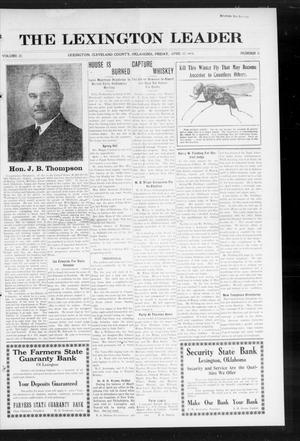 Primary view of object titled 'The Lexington Leader (Lexington, Okla.), Vol. 23, No. 31, Ed. 1 Friday, April 17, 1914'.