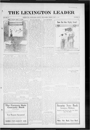 Primary view of object titled 'The Lexington Leader (Lexington, Okla.), Vol. 23, No. 33, Ed. 1 Friday, May 1, 1914'.