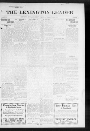 Primary view of object titled 'The Lexington Leader (Lexington, Okla.), Vol. 23, No. 37, Ed. 1 Friday, May 29, 1914'.