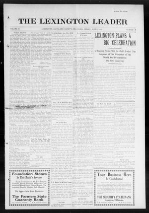 Primary view of object titled 'The Lexington Leader (Lexington, Okla.), Vol. 23, No. 38, Ed. 1 Friday, June 5, 1914'.