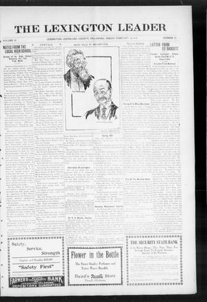 Primary view of object titled 'The Lexington Leader (Lexington, Okla.), Vol. 24, No. 23, Ed. 1 Friday, February 19, 1915'.