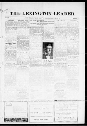 Primary view of object titled 'The Lexington Leader (Lexington, Okla.), Vol. 25, No. 35, Ed. 1 Friday, May 12, 1916'.