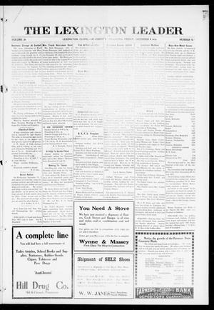 Primary view of object titled 'The Lexington Leader (Lexington, Okla.), Vol. 26, No. 13, Ed. 1 Friday, December 8, 1916'.