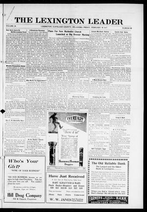 Primary view of object titled 'The Lexington Leader (Lexington, Okla.), Vol. 26, No. 23, Ed. 1 Friday, February 16, 1917'.