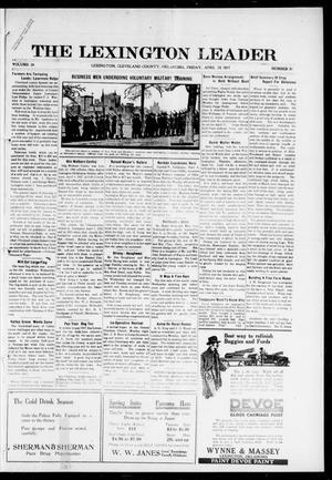 Primary view of object titled 'The Lexington Leader (Lexington, Okla.), Vol. 26, No. 31, Ed. 1 Friday, April 13, 1917'.
