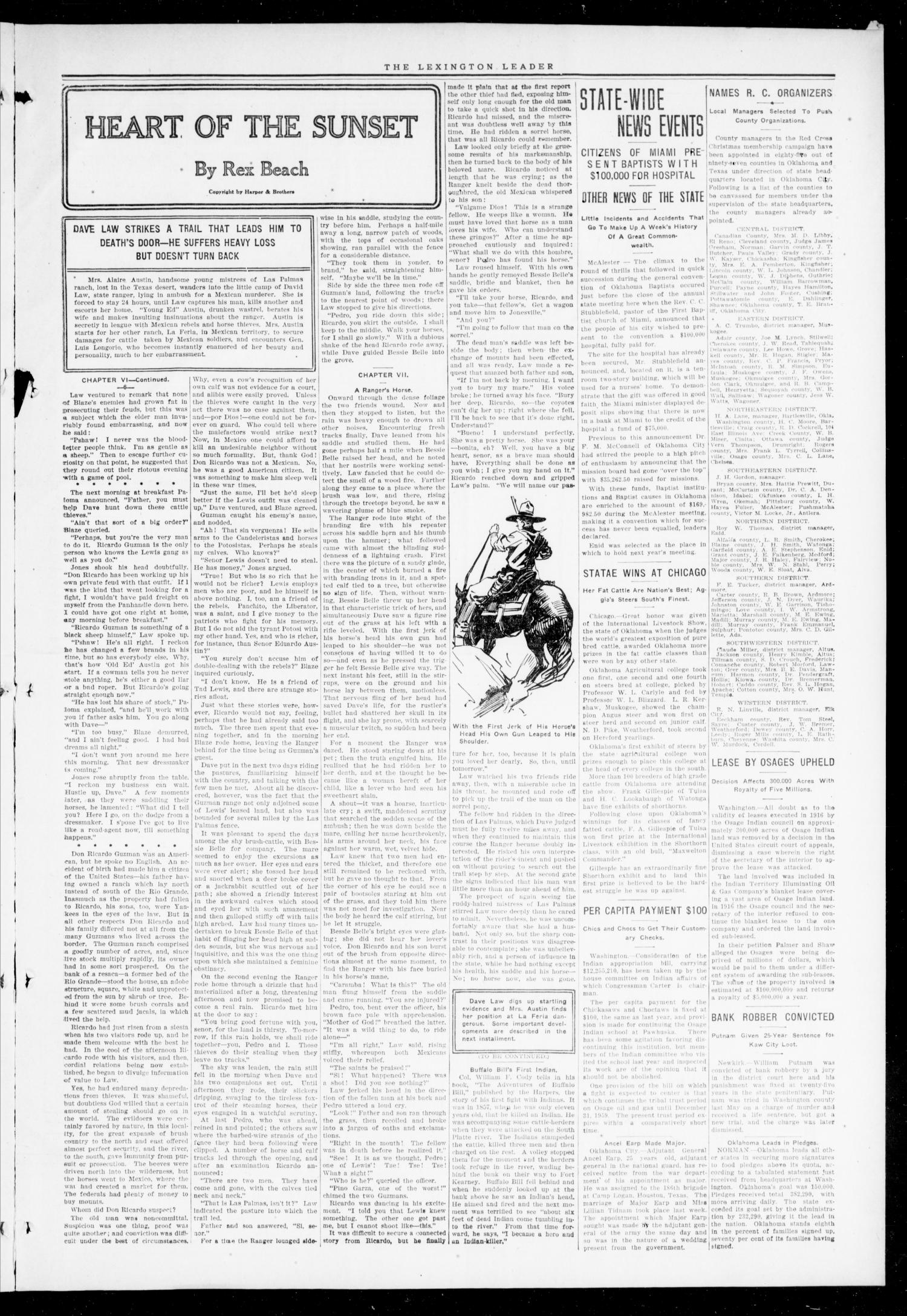 The Lexington Leader (Lexington, Okla.), Vol. 27, No. 16, Ed. 1 Friday, December 28, 1917                                                                                                      [Sequence #]: 3 of 10