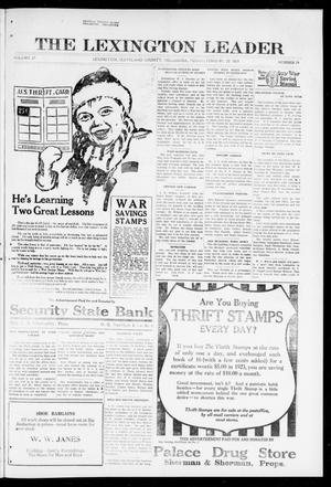 Primary view of object titled 'The Lexington Leader (Lexington, Okla.), Vol. 27, No. 24, Ed. 1 Friday, February 22, 1918'.