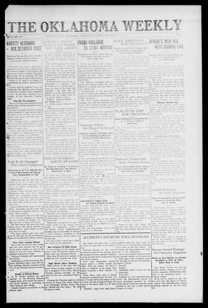 Primary view of object titled 'The Oklahoma Weekly (Norman, Okla.), Vol. 4, No. 1, Ed. 1 Saturday, September 20, 1919'.