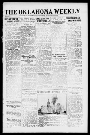 Primary view of object titled 'The Oklahoma Weekly (Norman, Okla.), Vol. 4, No. 9, Ed. 1 Thursday, March 4, 1920'.