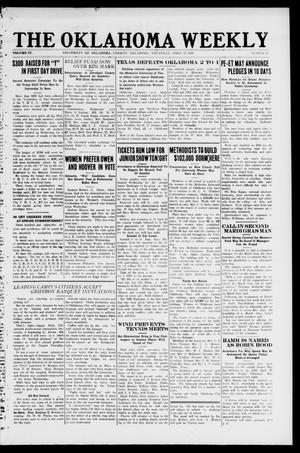 The Oklahoma Weekly (Norman, Okla.), Vol. 4, No. 14, Ed. 1 Thursday, April 15, 1920