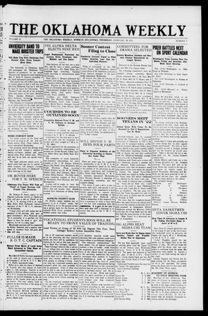 The Oklahoma Weekly (Norman, Okla.), Vol. 5, No. 7, Ed. 1 Thursday, February 10, 1921