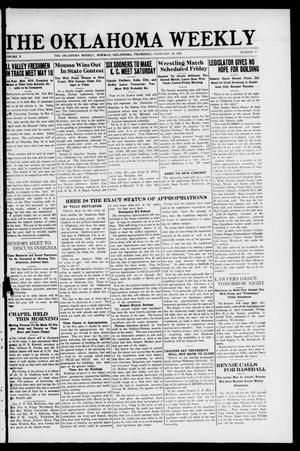 The Oklahoma Weekly (Norman, Okla.), Vol. 5, No. 9, Ed. 1 Thursday, February 24, 1921