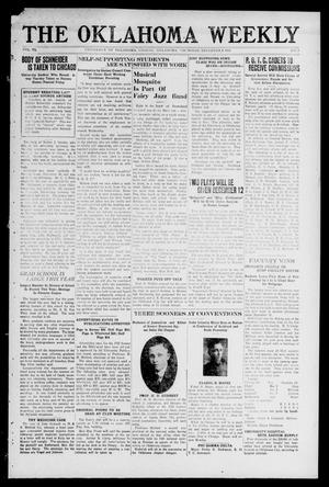 Primary view of object titled 'The Oklahoma Weekly (Norman, Okla.), Vol. 6, No. 7, Ed. 1 Thursday, December 8, 1921'.