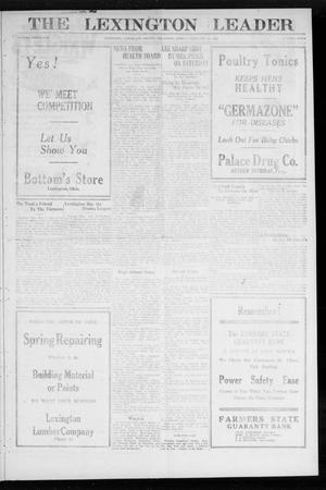 Primary view of object titled 'The Lexington Leader (Lexington, Okla.), Vol. 31, No. 40, Ed. 1 Friday, February 10, 1922'.
