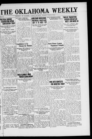 The Oklahoma Weekly (Norman, Okla.), Vol. 6, No. 21, Ed. 1 Thursday, March 23, 1922