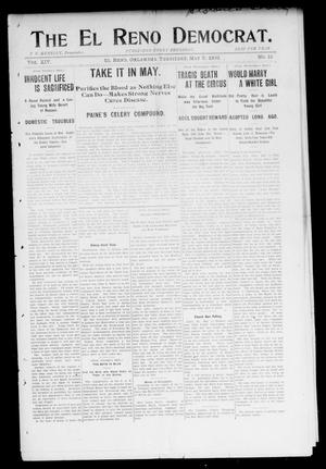Primary view of object titled 'The El Reno Democrat. (El Reno, Okla. Terr.), Vol. 14, No. 15, Ed. 1 Thursday, May 7, 1903'.