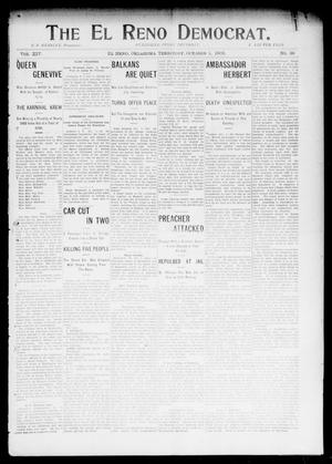 The El Reno Democrat. (El Reno, Okla. Terr.), Vol. 14, No. 36, Ed. 1 Thursday, October 1, 1903