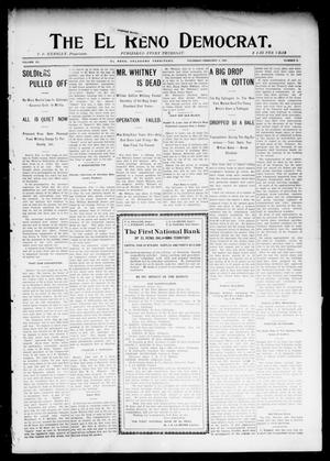 Primary view of object titled 'The El Reno Democrat. (El Reno, Okla. Terr.), Vol. 15, No. 3, Ed. 1 Thursday, February 4, 1904'.