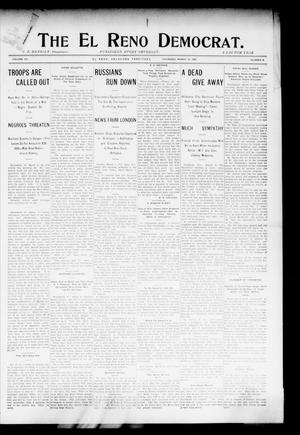Primary view of object titled 'The El Reno Democrat. (El Reno, Okla. Terr.), Vol. 15, No. 8, Ed. 1 Thursday, March 10, 1904'.
