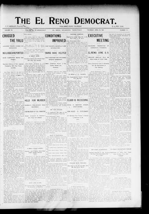 Primary view of object titled 'The El Reno Democrat. (El Reno, Okla. Terr.), Vol. 15, No. 14, Ed. 1 Thursday, April 28, 1904'.