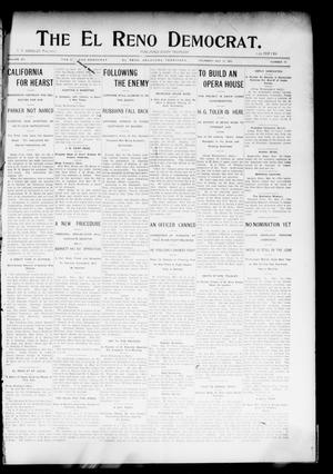 Primary view of object titled 'The El Reno Democrat. (El Reno, Okla. Terr.), Vol. 15, No. 17, Ed. 1 Thursday, May 19, 1904'.