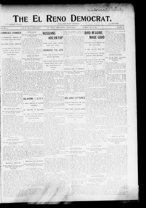 Primary view of object titled 'The El Reno Democrat. (El Reno, Okla. Terr.), Vol. 15, No. 18, Ed. 1 Thursday, May 26, 1904'.