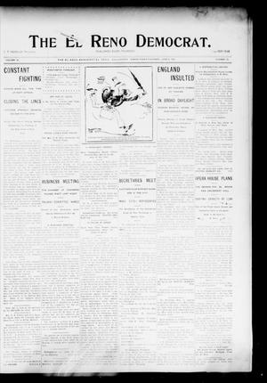 Primary view of object titled 'The El Reno Democrat. (El Reno, Okla. Terr.), Vol. 15, No. 20, Ed. 1 Thursday, June 9, 1904'.