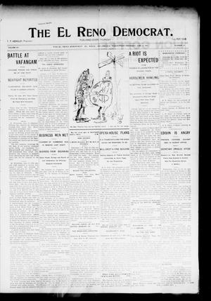 Primary view of object titled 'The El Reno Democrat. (El Reno, Okla. Terr.), Vol. 15, No. 21, Ed. 1 Thursday, June 16, 1904'.