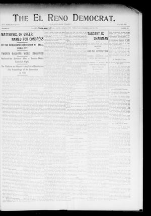 Primary view of object titled 'The El Reno Democrat. (El Reno, Okla. Terr.), Vol. 15, No. 27, Ed. 1 Thursday, July 28, 1904'.