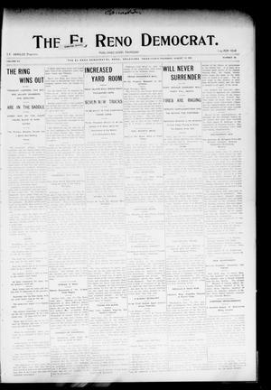 Primary view of The El Reno Democrat. (El Reno, Okla. Terr.), Vol. 15, No. 30, Ed. 1 Thursday, August 18, 1904