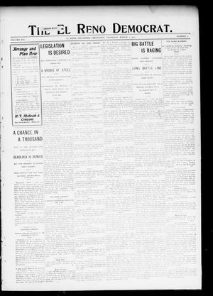 Primary view of object titled 'The El Reno Democrat. (El Reno, Okla. Terr.), Vol. 16, No. 7, Ed. 1 Thursday, March 2, 1905'.