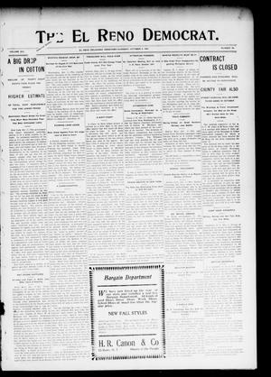 Primary view of object titled 'The El Reno Democrat. (El Reno, Okla. Terr.), Vol. 16, No. 38, Ed. 1 Thursday, October 5, 1905'.