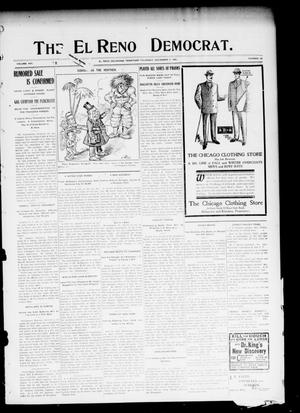 Primary view of object titled 'The El Reno Democrat. (El Reno, Okla. Terr.), Vol. 16, No. 42, Ed. 1 Thursday, November 2, 1905'.