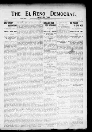 Primary view of object titled 'The El Reno Democrat. And Globe (El Reno, Okla. Terr.), Vol. 16, No. 48, Ed. 1 Thursday, December 14, 1905'.